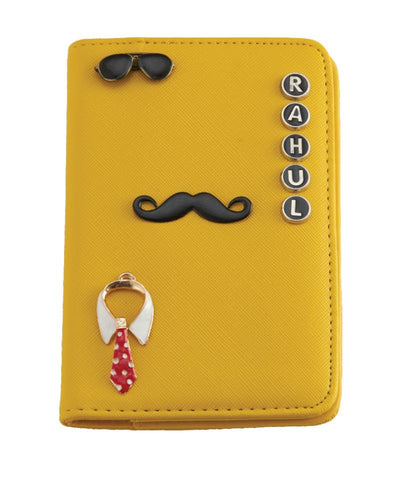 Passport Holder (Mustard)