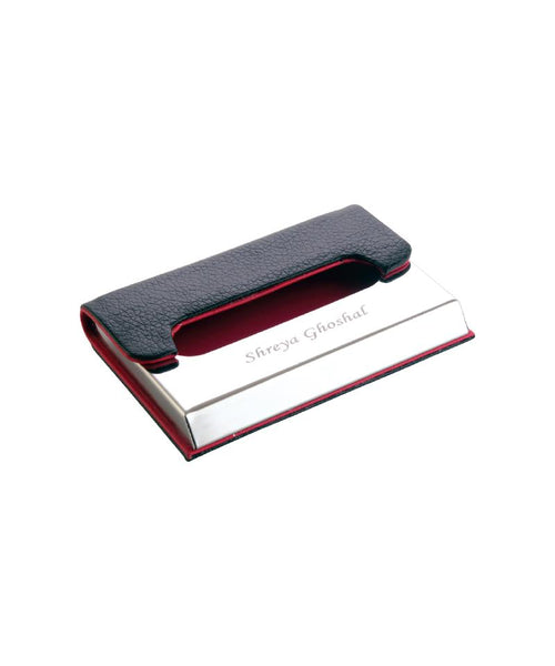 Name Engraved Visiting Card Holder