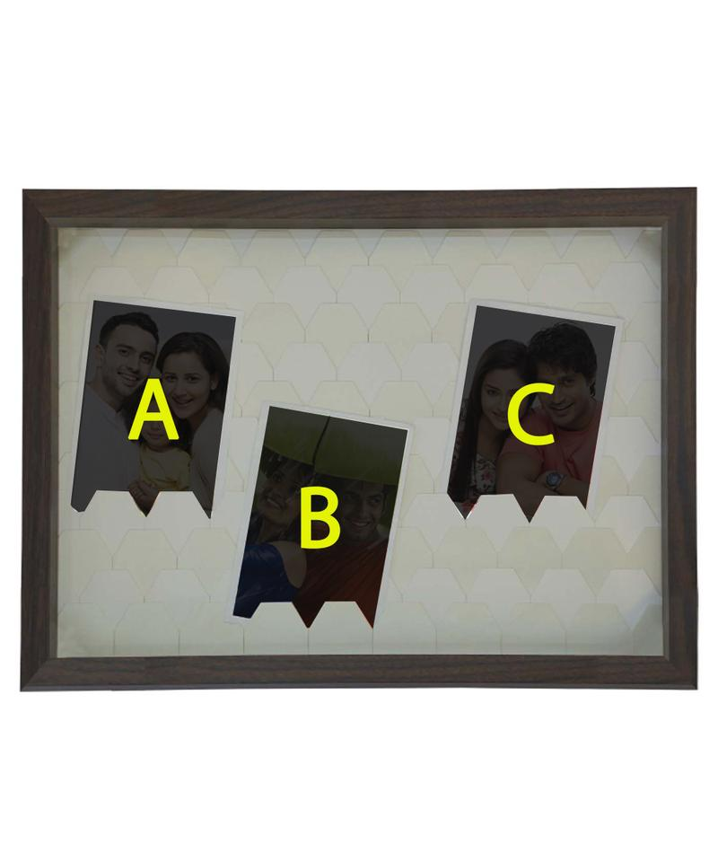 3 Hanging Picture Frame
