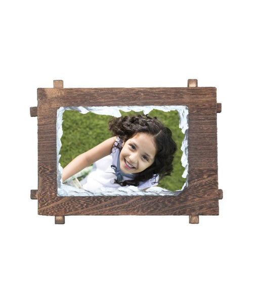 Sublimation Stone With Wooden Frame