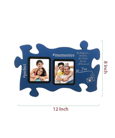 Wooden Collage Photo Frame-2 Photos