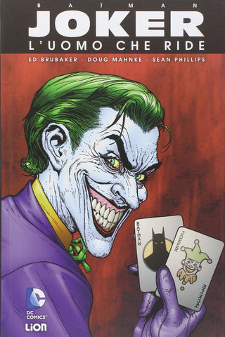 BATMAN LIBRARY (201600) BATMAN JOKER L UOMO CHE RIDE