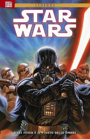 100% PANINI COMICS (201700) STAR WARS LEGENDS DART FENER E IL PIANTO DELLE OMBRE