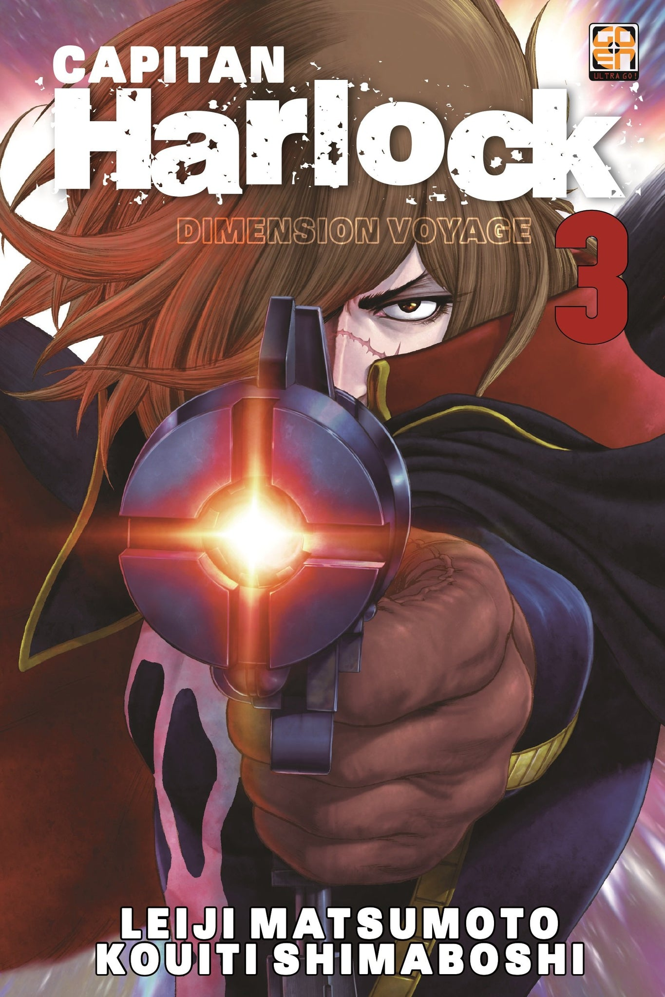 CULT COLLECTION (201500) 28 CAPITAN HARLOCK DIMENSION VOYAGE 3