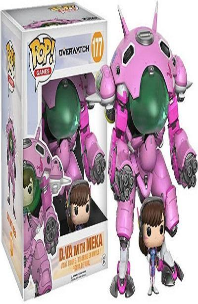 FUNKO POP - D.VA WITH MEKA - OVERWATCH #177