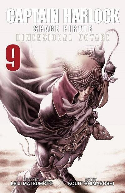 CULT COLLECTION #51 CAPITAN HARLOCK DIMENSION VOYAGE 9