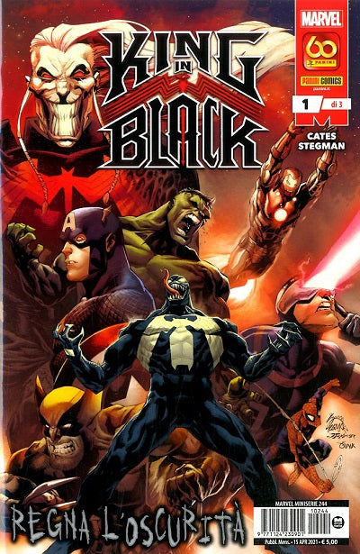 MARVEL MINISERIE #244 KING IN BLACK 1
