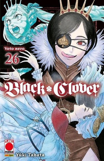 PURPLE #39 BLACK CLOVER 26