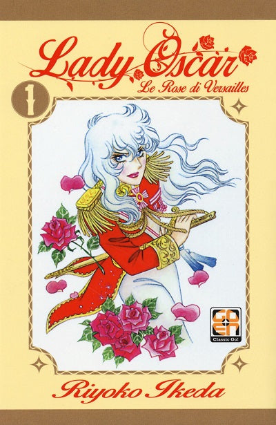 LADY COLLECTION (201500) 39 LADY OSCAR 1 LE ROSE DI VERSAILLES RISTAMPA