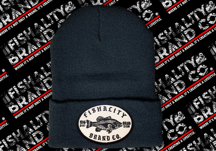 Big Bass Division Patch Style Beanie