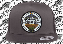 Load image into Gallery viewer, 2 Tail Logo Patch Style SnapBack Flat Bill - Canvas / Mesh