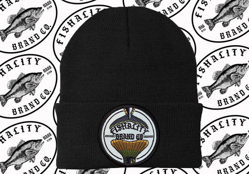 2 Tail Patch Style Logo Beanie