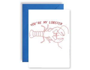 You're My Lobster - Card