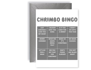 Chrimbo Bingo 3 - Card