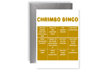 Chrimbo Bingo 4 - Card