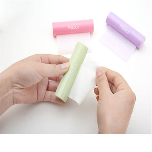 Portable Soap Paper Roll for hand hygiene