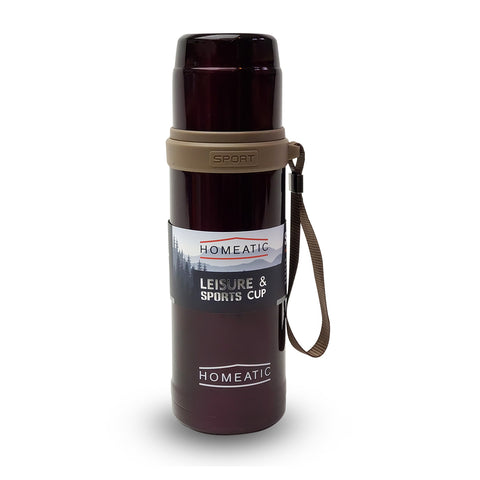 STEEL VACUUM HOT & COLD BOTTLE 600 ML