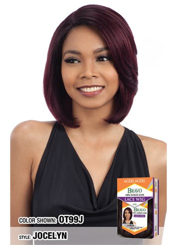 MODEL MODEL BRAVO 100%  HUMAN HAIR LACE WIG JOCELYN