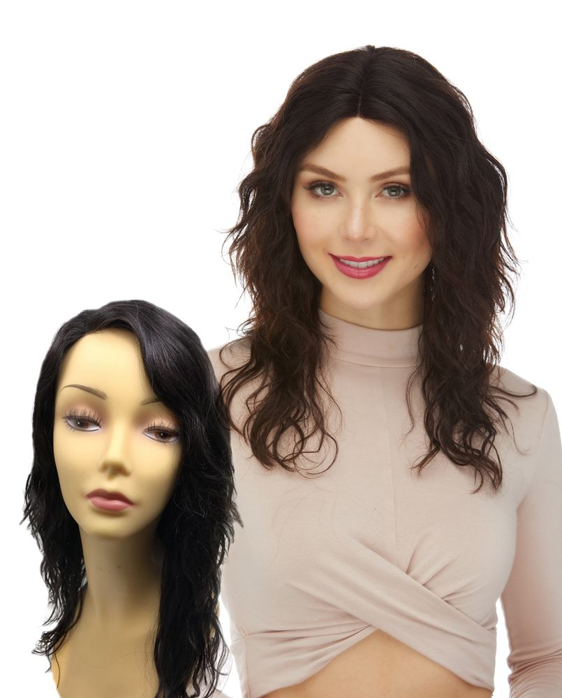 Elegante Brazilian Remy Natural Hair Lace Front Wig-HL NYDIA (#2032)