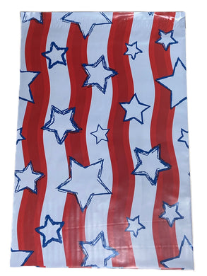 CLEARANCE - 10 x 13 American Flag Poly Mailer (Qty: 10)