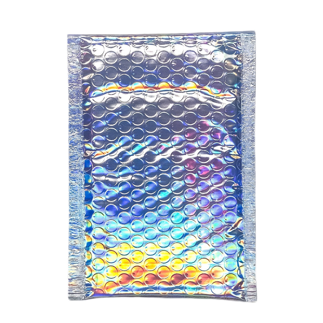 4.25 x 8  Holographic Bubble Mailer