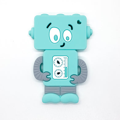 Aqua Mr. Roboto Teether