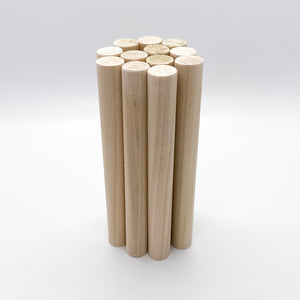 "1/2"" Dowel Rod for Wooden Rattles"