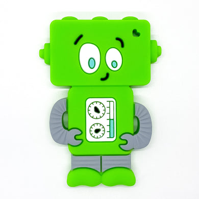 Green Mr. Roboto Teether