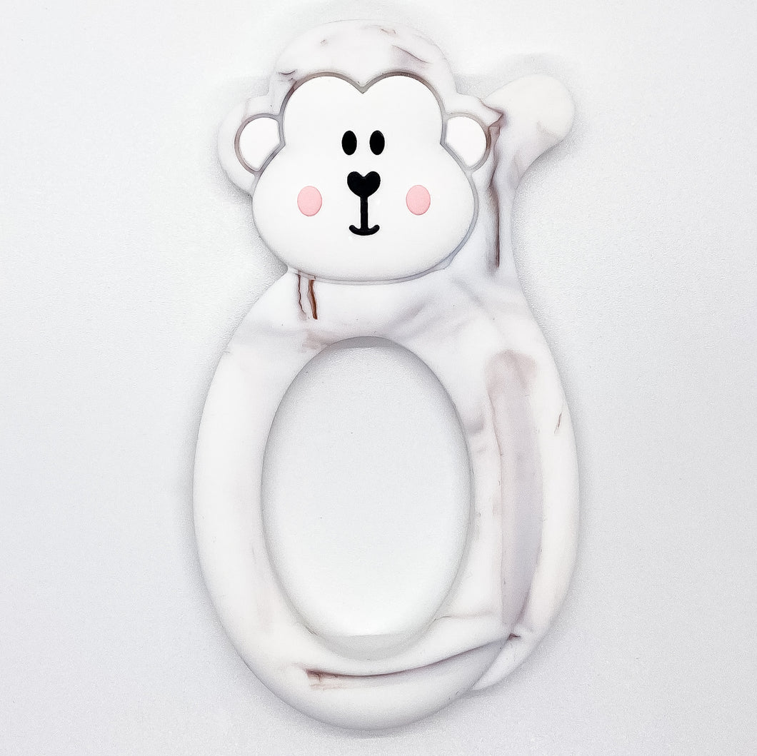 Marble Monkey Teether