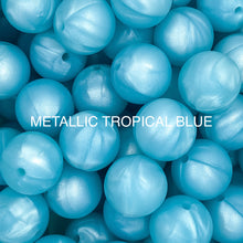 Load image into Gallery viewer, Metallic Tropical Blue