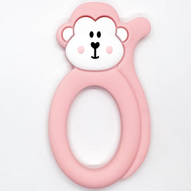 Pink Monkey Teether