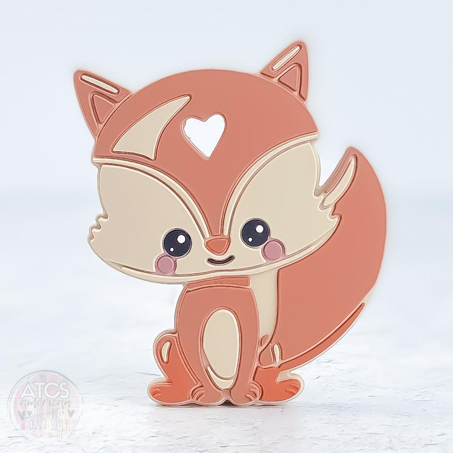 Fluffy Fox Teether