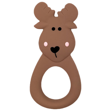 Brown Moose Teether