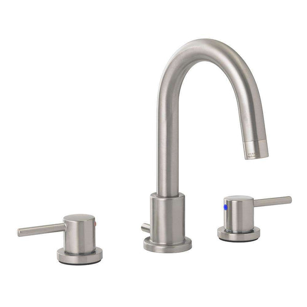 Jones Stephens 1559251 Contemporary Widespread Bath Faucet Brushed