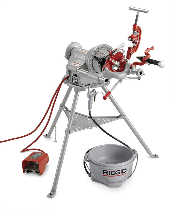 RIDGID Model 300 Pipe Threading Machine, 115V