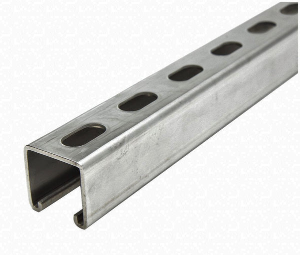"1-5/8"" x 1-5/8"" x 10 FT Slotted Strut Channel"