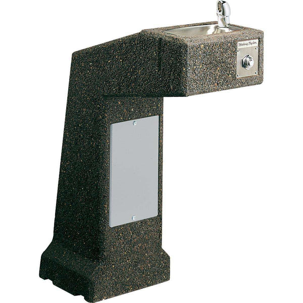 Halsey Taylor 4590FR Outdoor Sierra Stone Ftn Pedestal Non-Filtered Non-Refrigerated FR