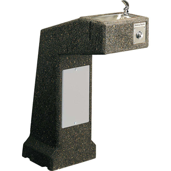Halsey Taylor 4590 Outdoor Sierra Stone Ftn Pedestal Non-Filtered Non-Refrigerated