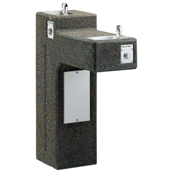 Halsey Taylor 4595SFR Outdoor Sierra Stone Ftn Bi-Level Non-Filtered Non-Refrigerated FR
