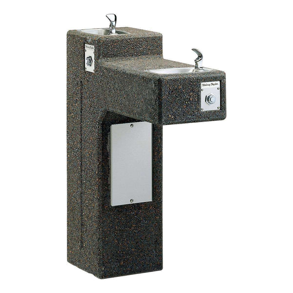 Halsey Taylor 4595 Outdoor Sierra Stone Ftn Bi-Level Non-Filtered Non-Refrigerated
