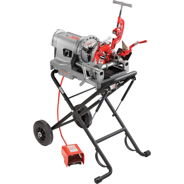 RIDGID | Model 300 Compact Threader w/ Folding Wheel Stand | 67182
