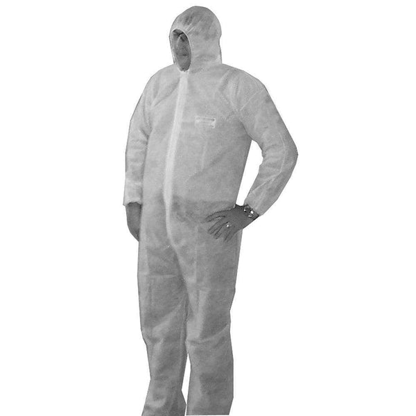 Jones Stephens B05020 Large Disposable Coverall 5/Bag (Carton Qty Only)