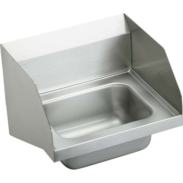 "Elkay CHS1716LRS4 SS 16-3/4"" x 15-1/2"" x 13"", Single Bowl Wall Hung Handwash Sinks"