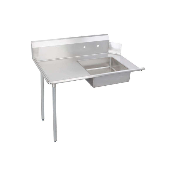Elkay DDT-96-LX Soiled Dishtable, 96X30 OA, SS Legs, R-To-L Operation, 16/300 SS, NSF