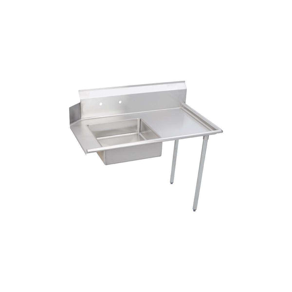 Elkay DDT-96-RX Soiled Dishtable, 96X30 OA, SS Legs, L-To-R Operation, 16/300 SS, NSF