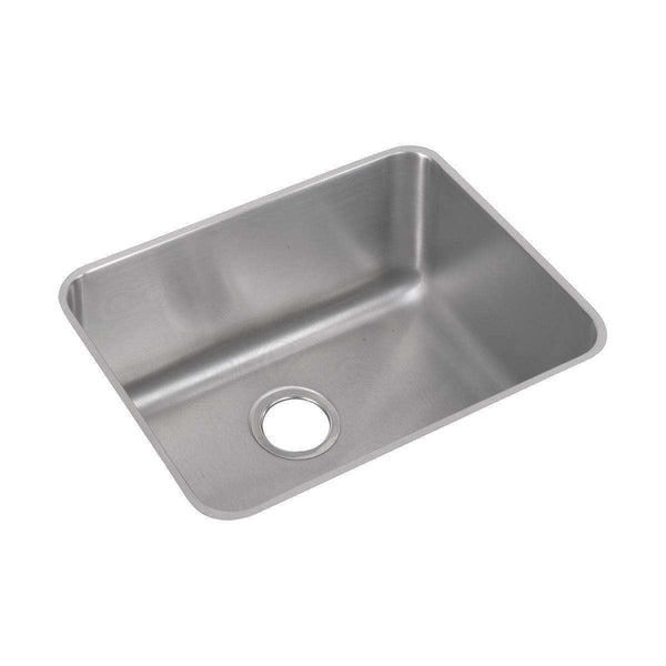 Elkay ELUH211512 Lustertone SS 23.5 x 18.2 x 12 Single Bowl Undermount Sinks