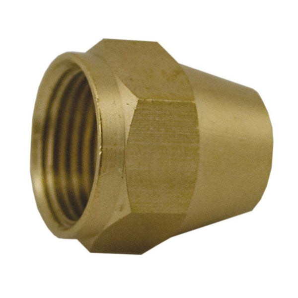 Jones Stephens F40001 (41S-3) 3/16 Br Short Flare Nut