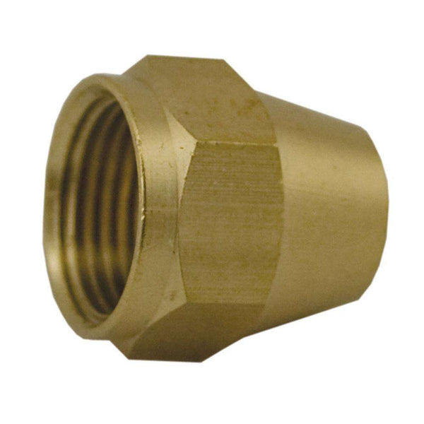 Jones Stephens F40005 (41S-8) 1/2 Br Short Flare Nut