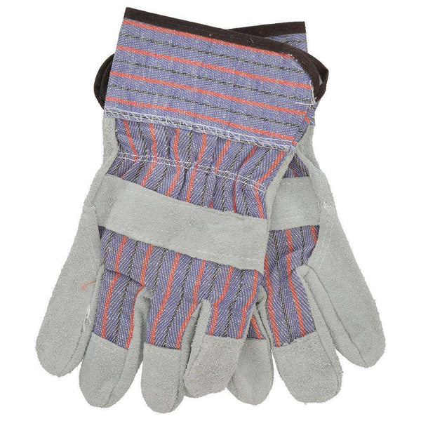 Jones Stephens G50204 Pair Leather Palm Low Sfty Cuff Gloves