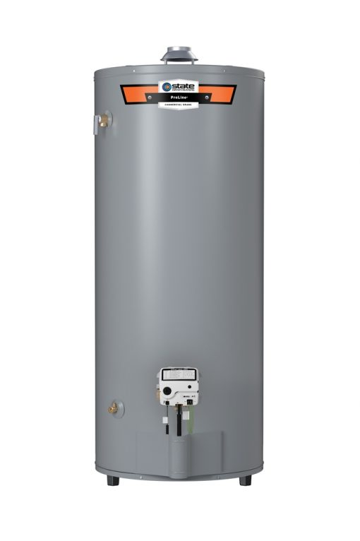 State 100 Gallon Gas Water Heater with High Recovery Atmospheric Vent w/ 75,100 BTUs